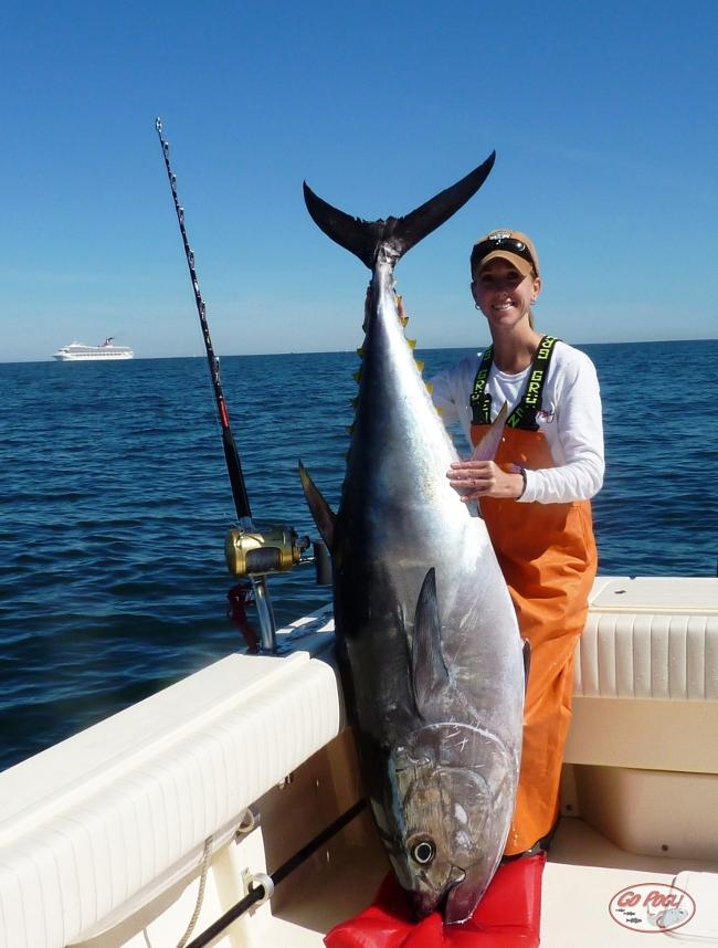 Allison\'s 67 inch Bluefin Tuna