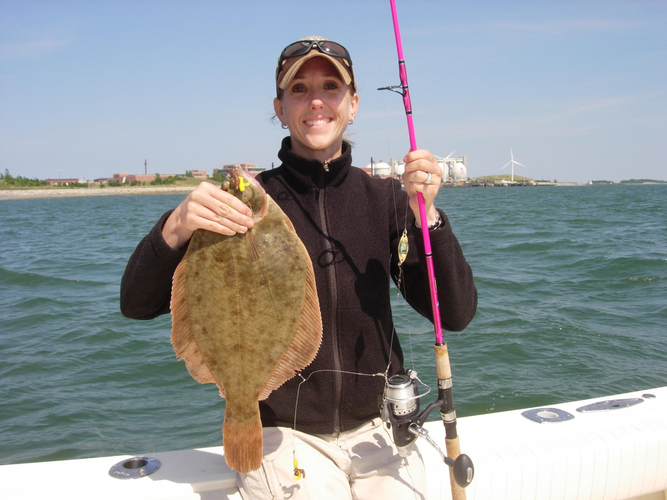 3.3 pound Flounder caught on the Esca