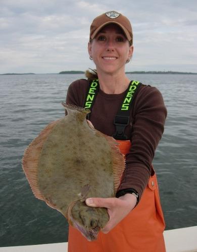 MA Derby Pin winning Flounder