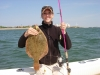 3.3 pound Flounder caught on the Esca