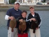 Team Pogy with some 3lb. Flounders